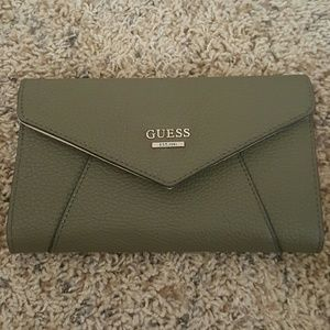 Guess Olive Drab wallet